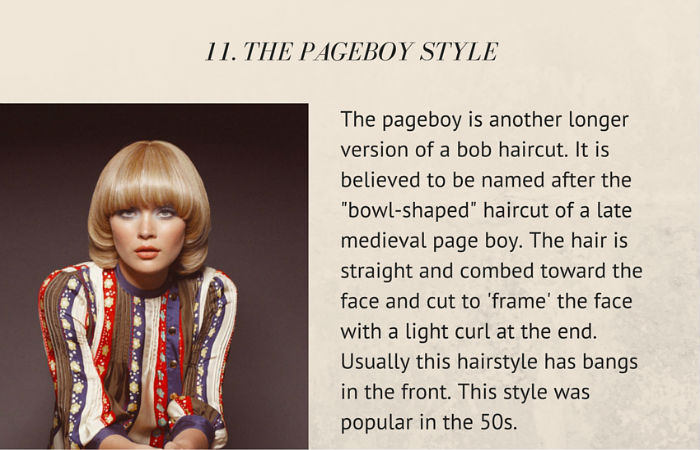 The Pageboy Style