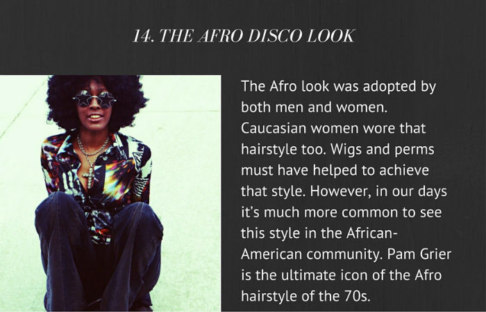 The Afro Disco Look