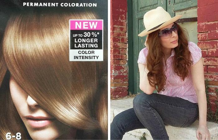 syoss hair dye 6-8