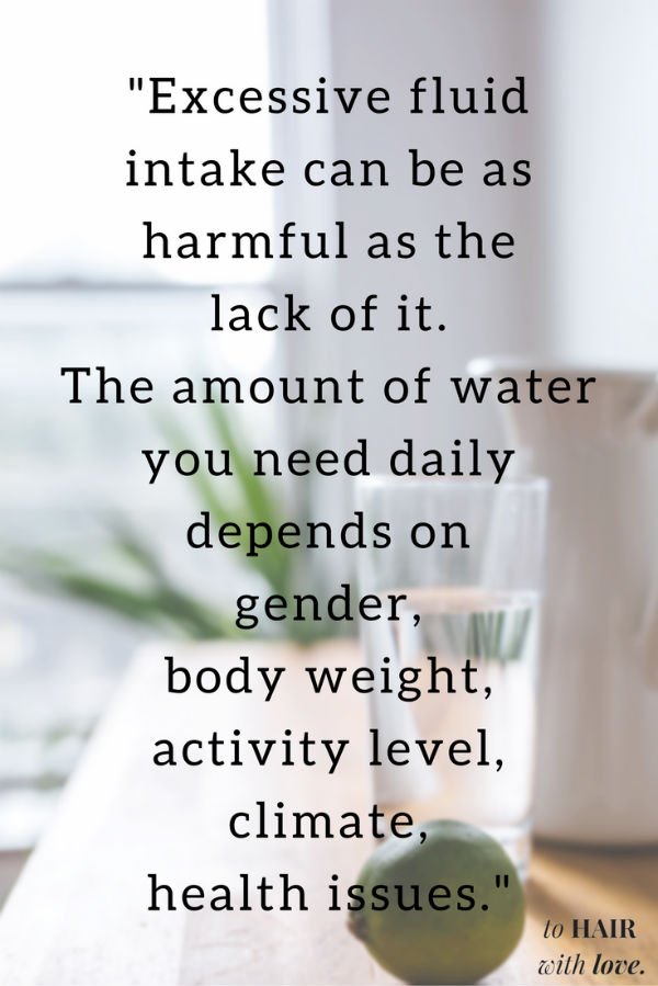 excessive water intake can be as harmful as the lack of it