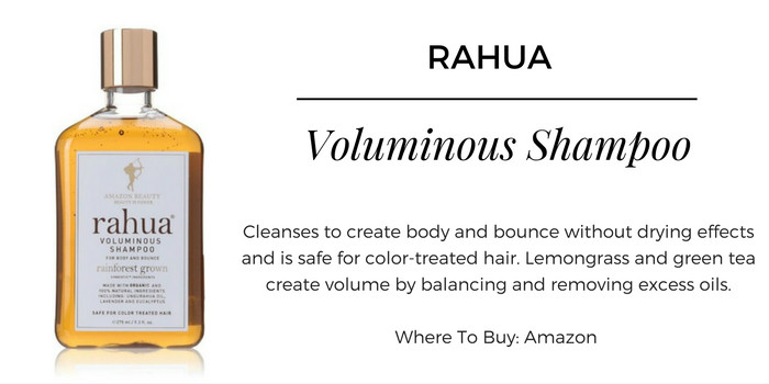Amazon Rahua Voluminous Shampoo