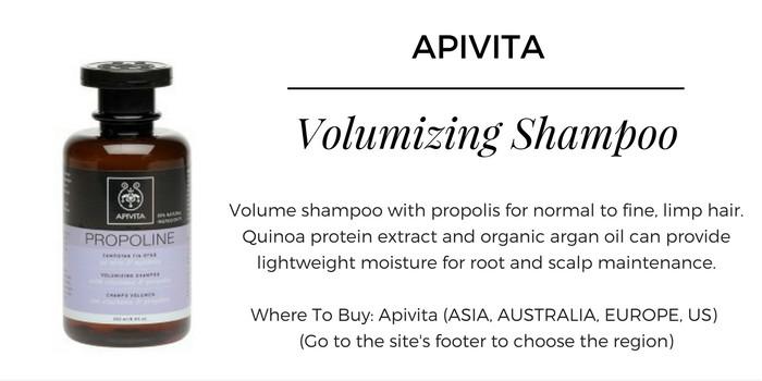 Apivita Propoline Volumizing Shampoo