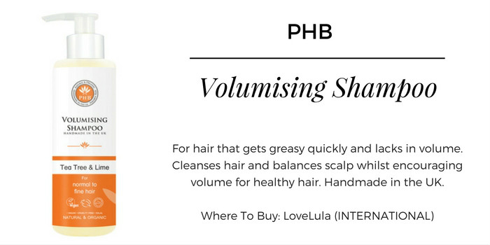 Love Lula PHB Ethical Beauty Volumising Shampoo With Tea Tree And Lime