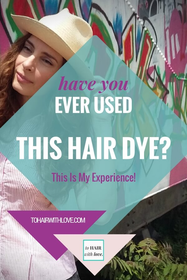 Have You Ever Used This Hair Dye? This Is My Experience!