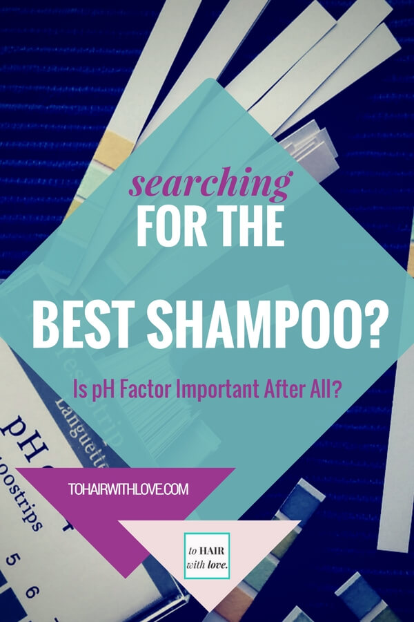 Searching For The Best Shampoo? Is pH Factor Important After All?